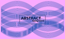 Bunter abstrakter Hintergrund Fließen und dynamischer Formhintergrund lizenzfreie abbildung