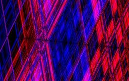 Bunter abstrakter Hintergrund mit den horizontalen und vertikalen Linien Stockbild