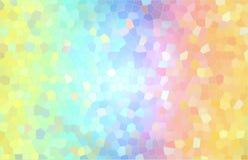 Bunter abstrakter Hintergrund, wie ein Mosaik und ein Buntglas lizenzfreie stockfotografie