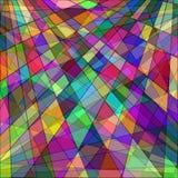 Bunter abstrakter Hintergrundrechteckhintergrund Stockbilder