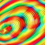 Bunter abstrakter Kreiskunsthintergrund Stockfoto