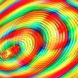 Bunter abstrakter Kreiskunsthintergrund Lizenzfreie Stockbilder