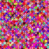 Bunter abstrakter moderner geometrischer Hintergrund, illustrati vektor abbildung