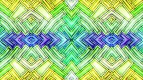 Bunter abstrakter nahtloser nahtloser Schleifenzyklus des Beschaffenheitsbewegungsvideos stock video