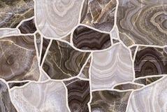 Bunter abstrakter Steinhintergrund nahtlos Lizenzfreies Stockbild