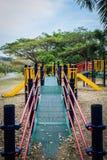 Bunter allgemeiner Spielplatz Stockfoto