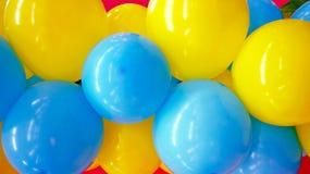 Bunter Ballonhintergrund Stockfotografie