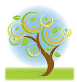 Bunter Baum vektor abbildung