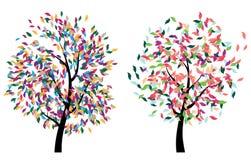 Bunter Baum Stockbilder