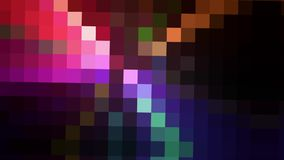 Bunter Bewegungspixelhintergrund lizenzfreie abbildung