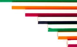 Bunter Bleistifthintergrund Stockbilder