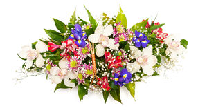 Bunter Blumenblumenstrauß Stockfotos