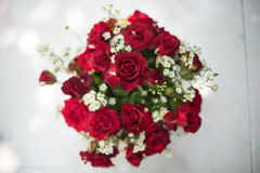 Bunter Blumenblumenstrauß Lizenzfreies Stockfoto