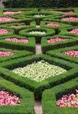 bunter Blumengarten Lizenzfreies Stockfoto