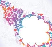 Bunter Blumenhintergrund Stockbild