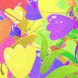 Bunter Blumenstrauß Stockfotografie