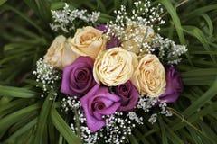 Bunter Blumenstrauß Stockfoto