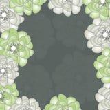 Bunter Blumenvektorhintergrund Lizenzfreie Stockfotos