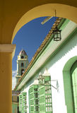 Bunter Bogen, Trinidad, Kuba Lizenzfreies Stockbild