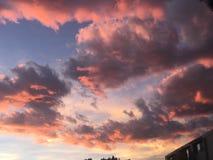 Bunter Colorado-Sonnenuntergang Lizenzfreies Stockbild