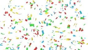 Bunter Confetti stock abbildung