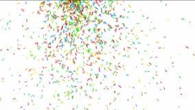 Bunter Confetti stock video