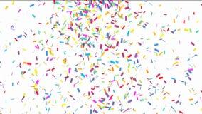 Bunter Confetti vektor abbildung