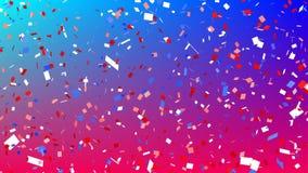 Bunter Confetti lizenzfreie abbildung