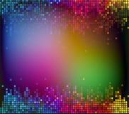 Bunter digitaler solider abstrakter Hintergrundvektor stock abbildung