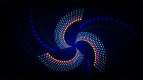 Bunter Dot Sound-Wellenhintergrund Stockfotografie