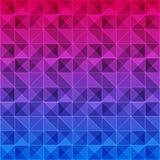 Bunter Dreieckmusterhintergrund lizenzfreie abbildung