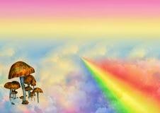 Bunter Fantasiehintergrund Lizenzfreies Stockfoto