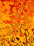 Bunter Feuer-Hintergrund Lava Magma Texture Abstract Brights Stockfoto