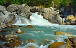 Bunter Fluss Lizenzfreies Stockfoto