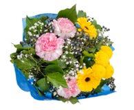 Bunter Frühling blüht Blumenstrauß Lizenzfreies Stockfoto