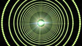 Bunter funkelnder Licht-Disco-Hintergrund 4K stock footage