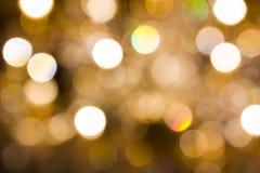 Bunter Funken und Glühen buntes glänzendes bokeh beleuchten Lizenzfreie Stockfotos