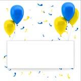 Bunter Geburtstaghintergrund Lizenzfreie Stockfotos