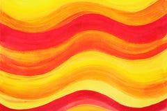 Bunter gemalter Acrylhintergrund Lizenzfreie Stockfotos