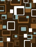 Bunter geometrischer abstrakter Hintergrund Stockbild