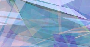 Bunter geometrischer abstrakter Hintergrund als Spaß-Thema stock video