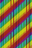 Bunter gezeichneter Hintergrund mit grunge Lizenzfreies Stockfoto
