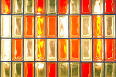 Bunter Glaskasten Stockfotos