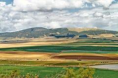 Bunter Golan Heights lizenzfreie stockbilder