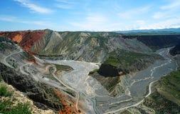 Bunter Grand Canyon Lizenzfreie Stockfotos