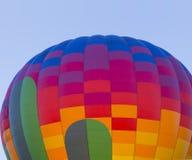 Bunter Heißluft-Ballon Stockfoto
