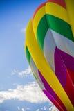 Bunter Heißluft-Ballon Stockbilder
