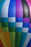 Bunter Heißluft-Ballon (Nahaufnahme) Lizenzfreies Stockfoto