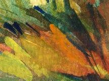 Bunter heller strukturierter abstrakter Hintergrund des Aquarells handgemacht Insel von Sizilien, Italien Malerei des Hügels auf  lizenzfreie stockfotografie