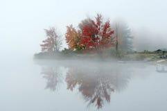 Bunter Herbst in Neu-England Stockbild